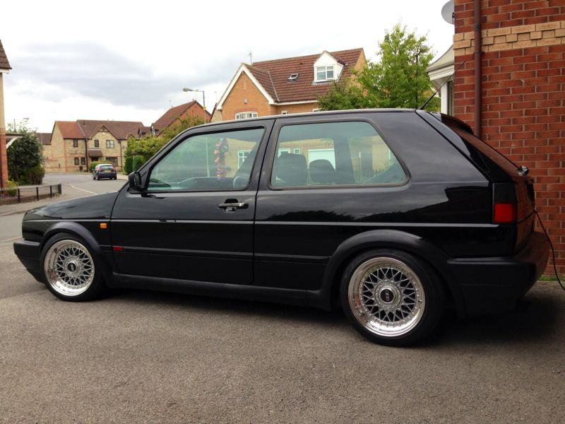 picture of VW Golf GTI with BBS split rims